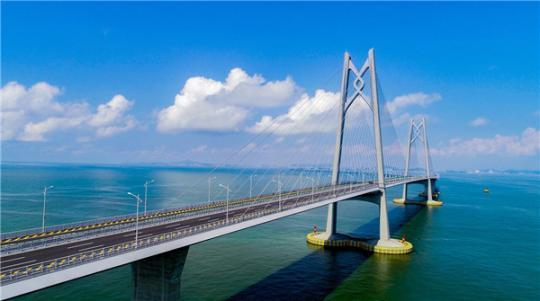 Hong Kong-Zhuhai-Macao Bridge. (Photo by Wu Changfu/Zhuhai Daily)