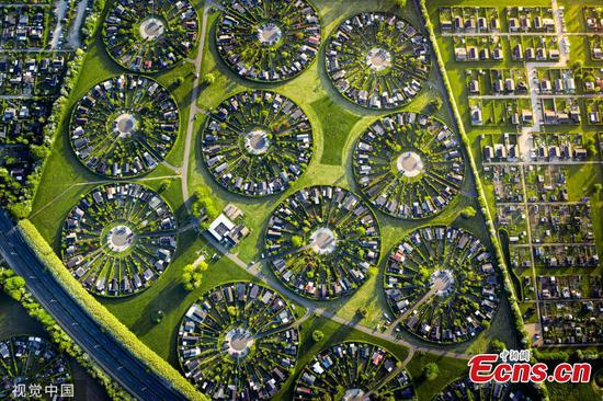 Amazing circular 'garden city' that looks like an 'alien civilisation'