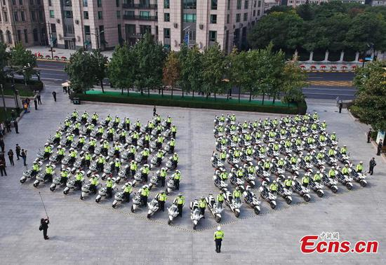 Shanghai police forms new motor unit