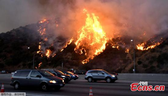 Wildfires force evacuation in California