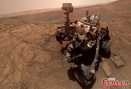 Nasa Curiosity snaps 'breathtaking' selfie on Mars