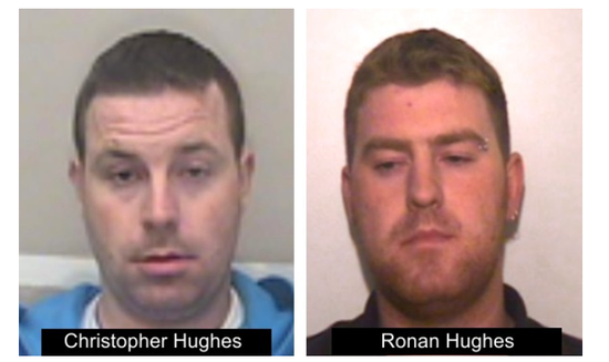 The brothers are thought to have links to both the Republic and Northern Ireland (Credit: Essex Police)