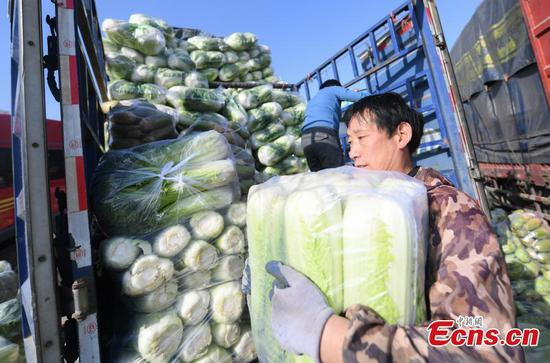 Sales of winter vegetables rise amid dropping temperatures