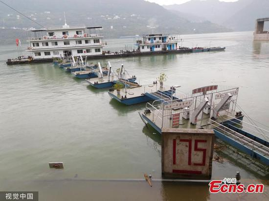 Three Gorges Reservoir 175-meter impoundment comes to an end