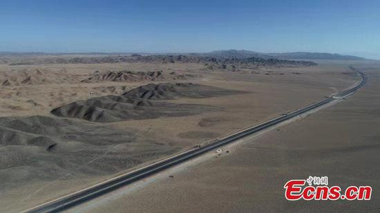 Milestone reached in construction of Beijing-Xinjiang Expressway
