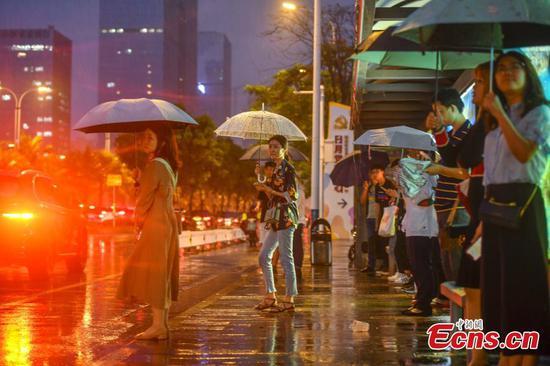 Rainstorm hits southern island province