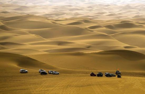 File photo of the Kumutage Desert