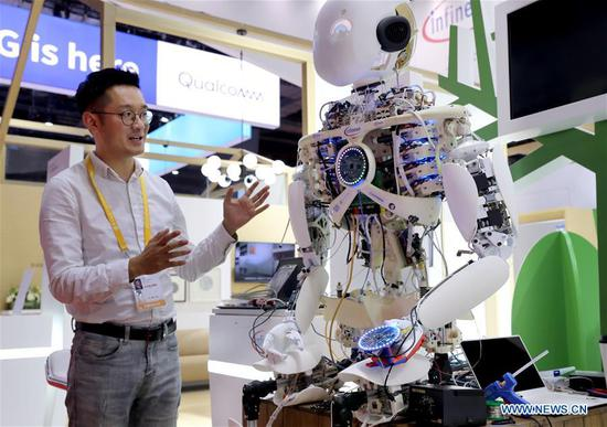 Exhibitors make final adjustments for 2nd CIIE