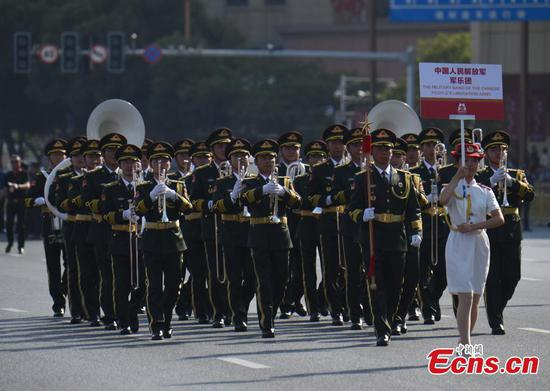 Military bands from 10 countries attend festival in Nanchang