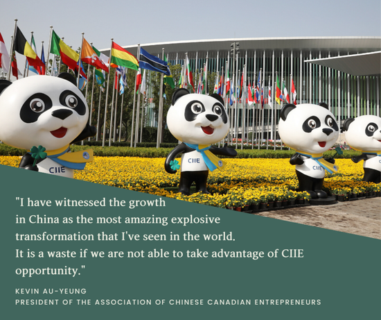 What do people around the world say about CIIE