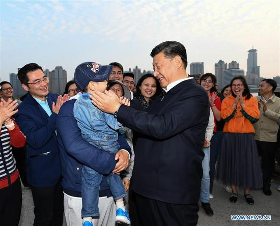 Xi stresses people-centered development in urban construction