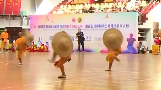 Kung Fu masters a hit in Fujian