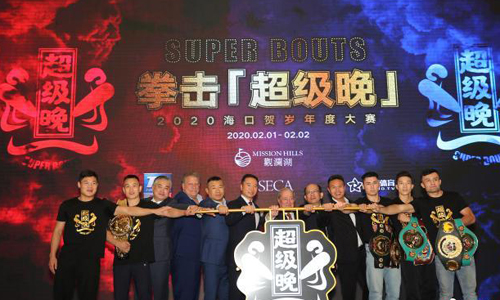 Haikou to host top boxing match in February