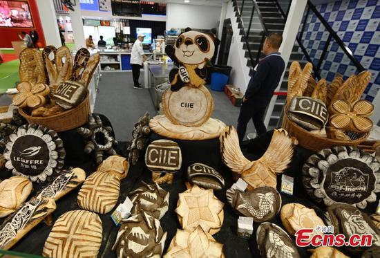 International delicacies at CIIE in Shanghai