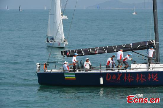 China Cup International Regatta opens in Shenzhen