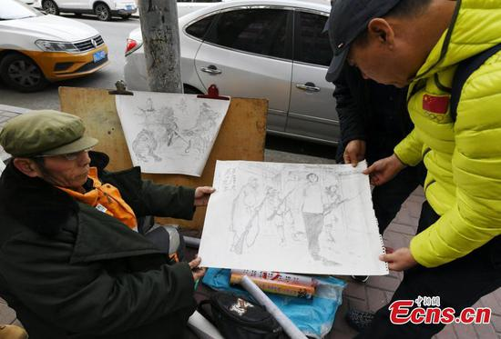 Sanitation worker also has artistic soul