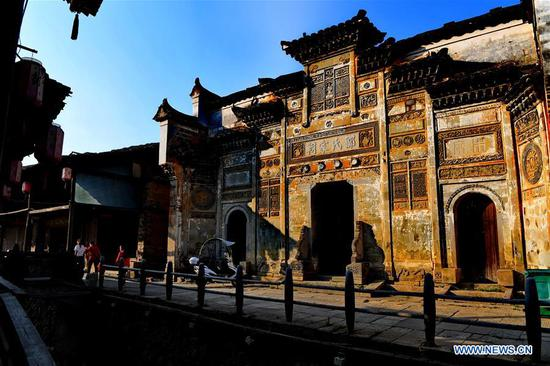 Classical residences in Xiamei Village, Fujian