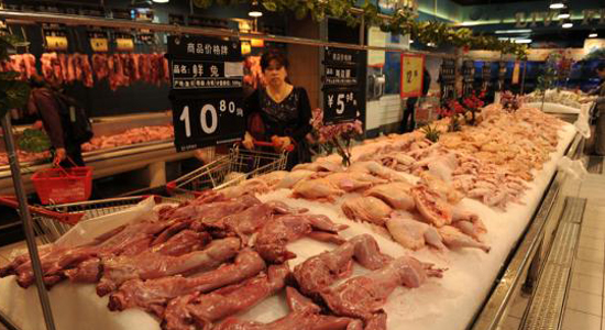 China welcomes U.S. confirmation of poultry products inspection equivalence