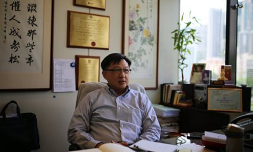 Stabbed HK legislator speaks about attack, urging public to stand united against violence