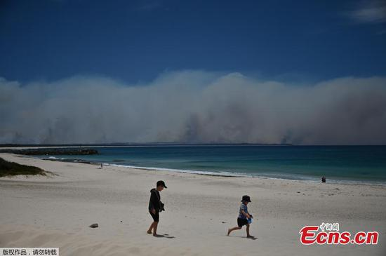 Australia bushfires: Sydney facing 'catastrophic' threat