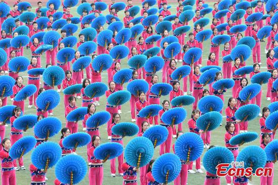 Ethnic games open in SW China county
