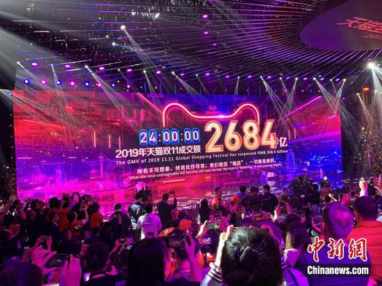 Double 11 record sales signal strength of Chinese consumption