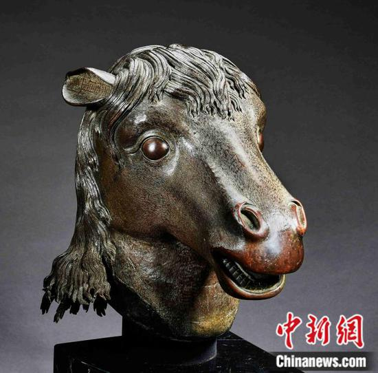 Horse-head statue of Old Summer Palace comes home