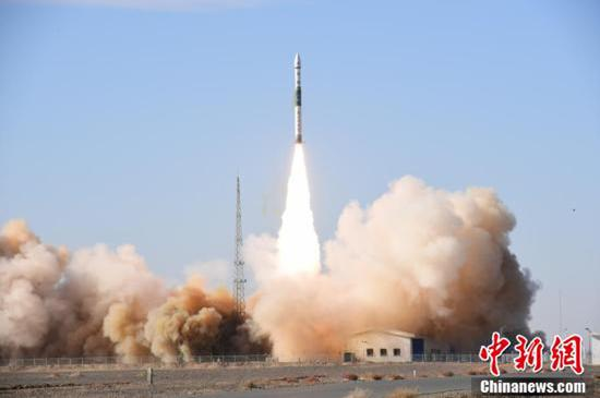 China launches new remote-sensing satellite Kuaizhou 1A