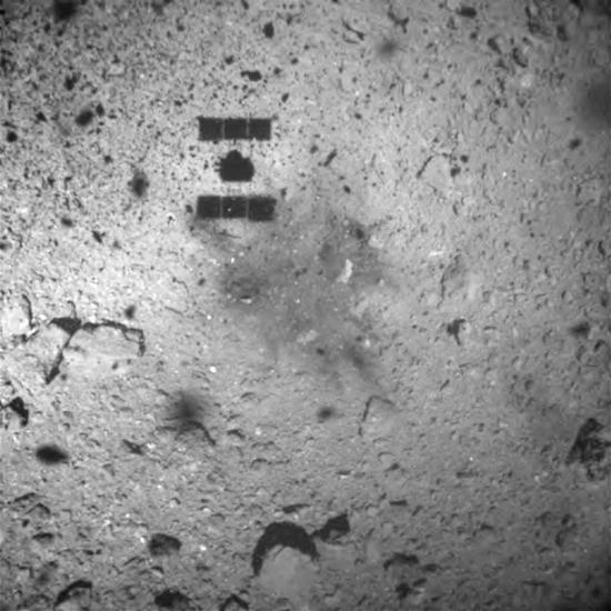 Japan's Hayabusa2 space probe departs asteroid for Earth with samples