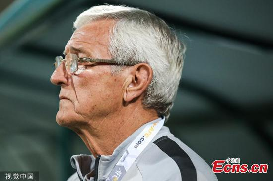 Lippi announces resignation after China lose 2-1 to Syria in FIFA World Cup qualifier
