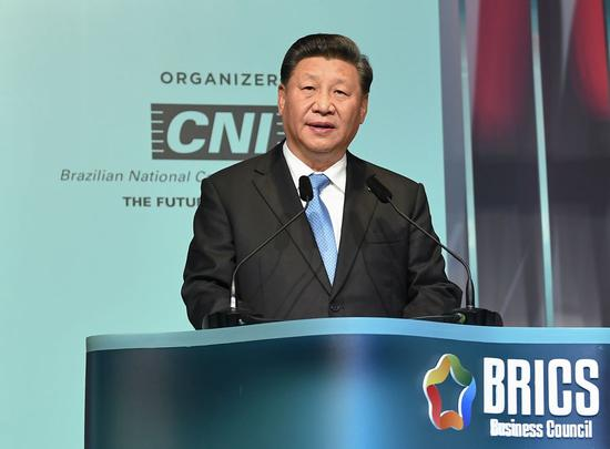 Xi urges BRICS countries to champion multilateralism