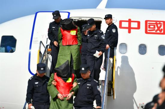 因电信欺诈从菲律宾遣返了208人