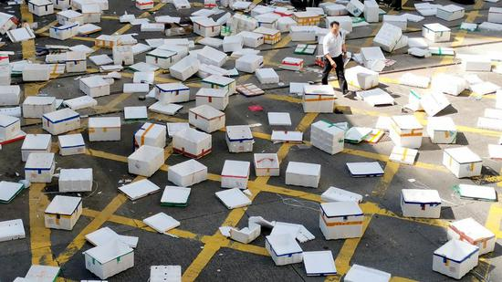 Senior HKSAR gov't official vows to ensure people's safety despite escalating violence