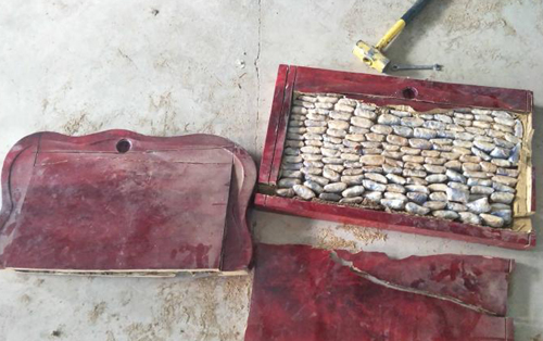 Nearly 147 kg of drugs seized in border province Yunnan