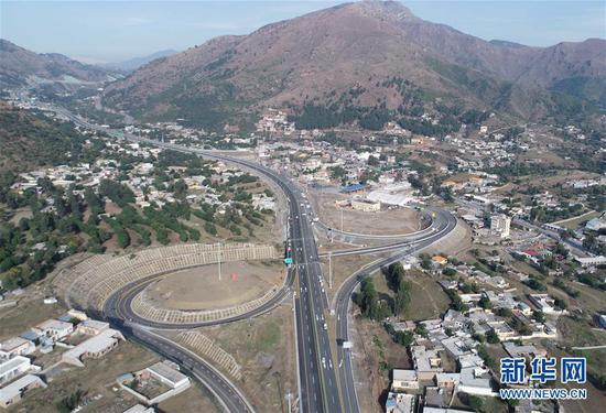Expressway under CPEC inaugurated in NW Pakistan