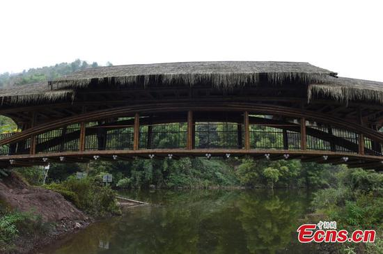 Bamboo bridge wins RICS Awards China 2019
