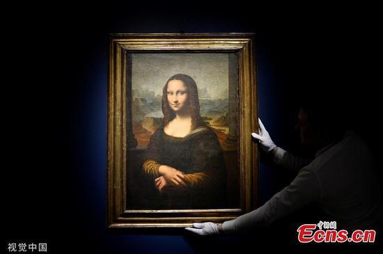 达芬奇的《蒙娜丽莎》的复制品以552,500欧元出售