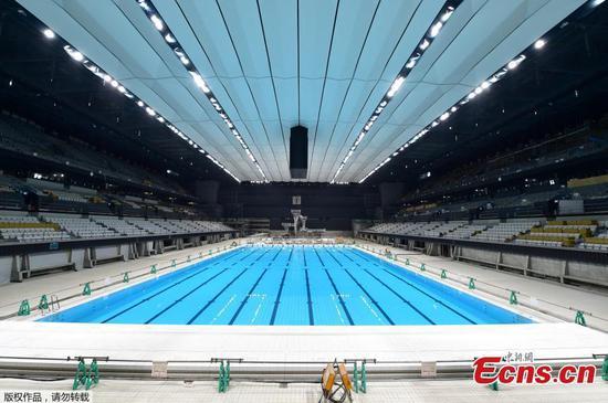 Tokyo 2020 unveils 15,000-seat Olympic aquatics center