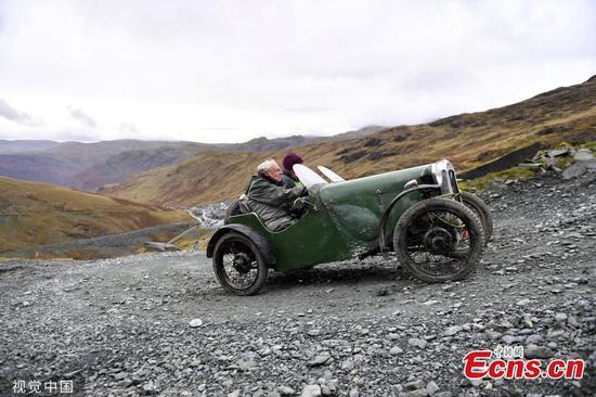 图片:老爷车事件征服了山口