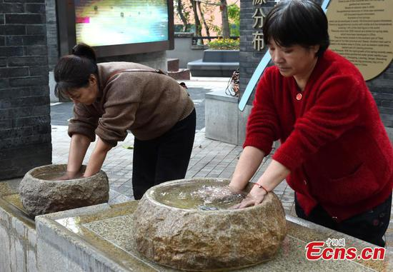 Chongqing opens free hot spring for visitors