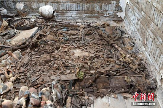Royal tomb found in Gansu aids understanding of ancient kingdom