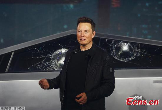 Tesla's Cybertruck windows crack in live demonstration