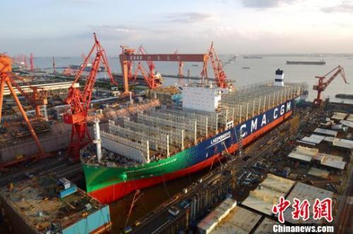 World's largest shipbuilder established in China