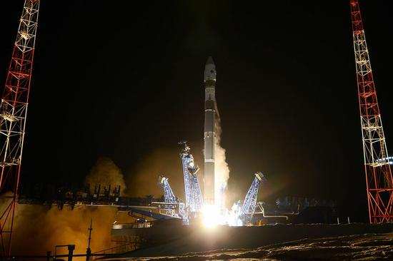 Russia successfully launches military satellite