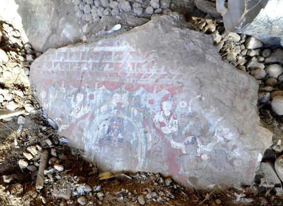 13th-century frescoes discovered in China