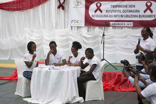 AIDS still substantial challenge to world although campaign forges ahead