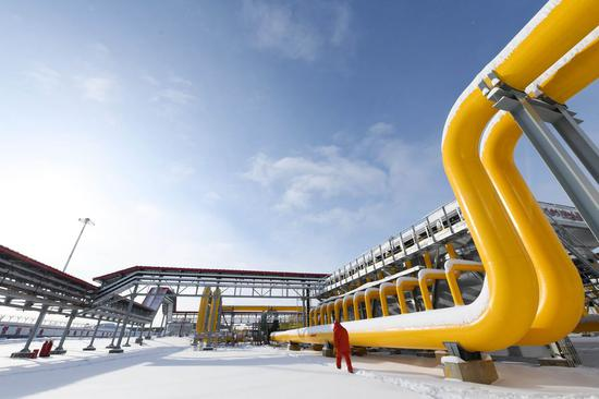 China-Russia east-route natural gas pipeline operational