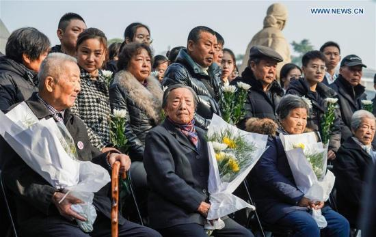 Family commemoration activities for Nanjing Massacre victims start