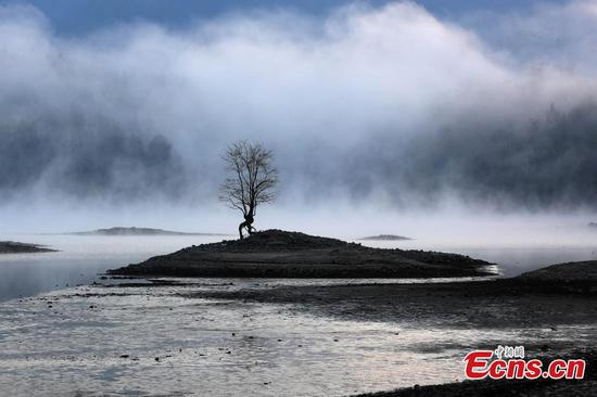 Eastern Qishu Lake looks like fairyland