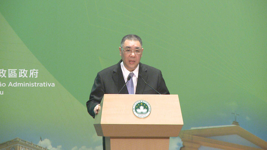 Macao leader: Macao should actively participate in Greater Bay Area